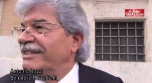 """Antonio Razzi: """"L'epoca di Berlusconi finita ?  No, non finirà mai"""" (VIDEO)"""