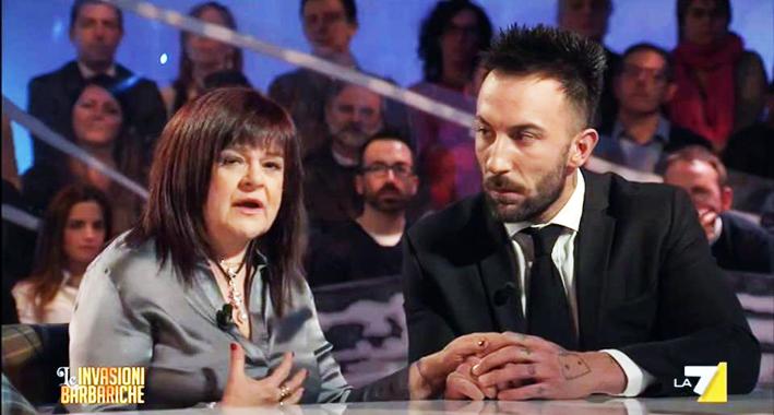 Stefania-Pezzopane-e-Simone-Coccia-Colaiuta-a-Le-Invasioni-Barbariche-Foto-da-video-2