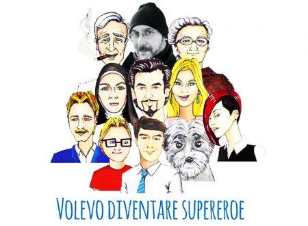"""È uscito """"Volevo diventare Supereroe"""", lo stupendo libro di esordio dello scrittore Paolo Suriano."""