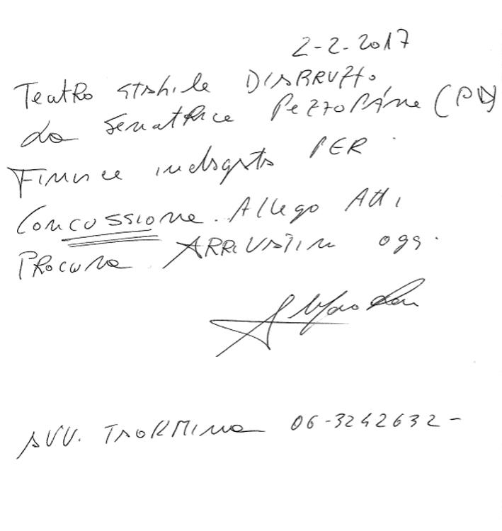 lettera Maiorano xx