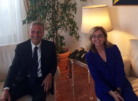 L'On. Fucsia Nissoli scende in campo per concordare il potenziamento dell'Ambasciata Italiana a Santo Domingo.