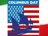 columbus day tricolore