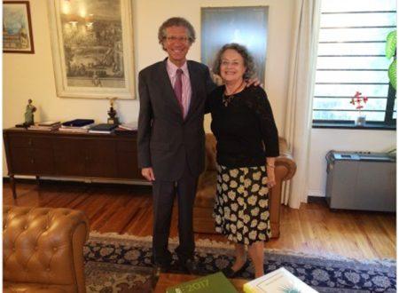 Paola Donati, coordinatrice di Forza Italia in Messico, ricevuta dall'Ambasciatore e dal Console dell'Italia